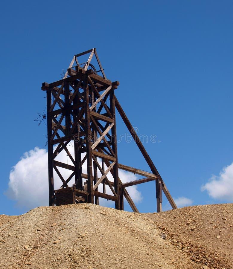 采矿行动 免版税图库摄影