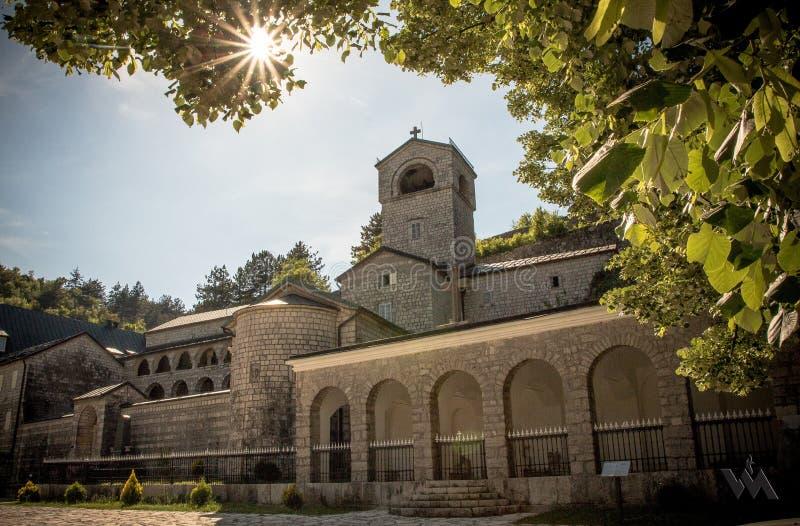采蒂涅修道院 免版税库存图片