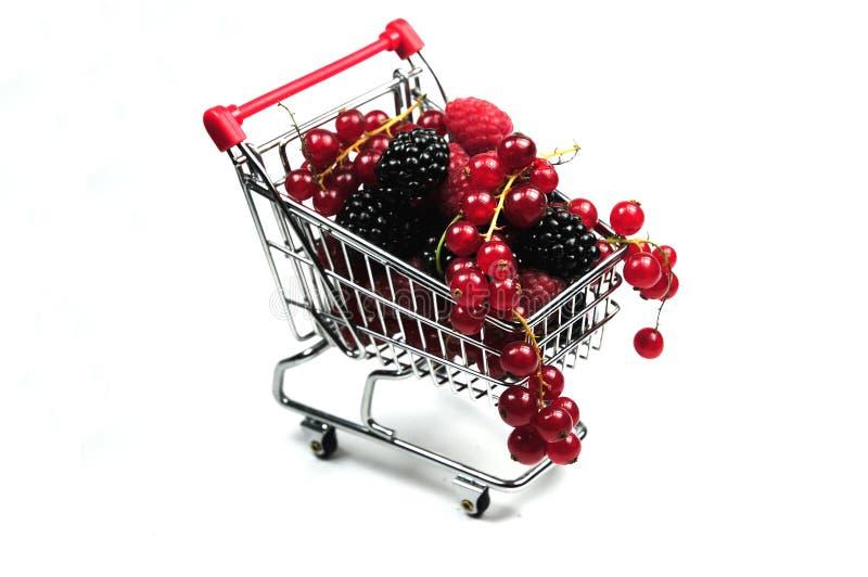 采购健康的食物 免版税库存图片