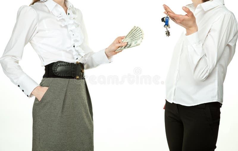 采购的庄园实际租赁 免版税库存图片