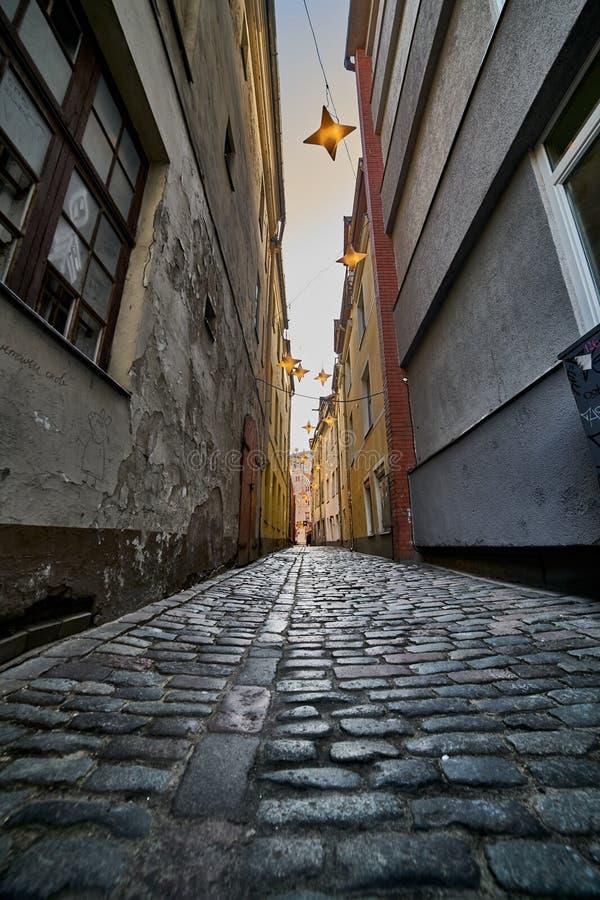 里加,拉脱维亚,欧洲中部的中世纪城市 免版税库存图片