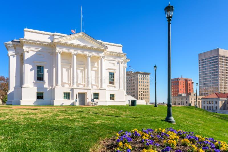 里士满弗吉尼亚状态国会大厦 免版税库存照片