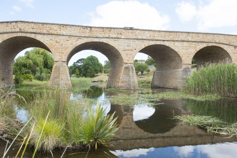 里士满桥梁在塔斯马尼亚岛澳大利亚 免版税库存图片