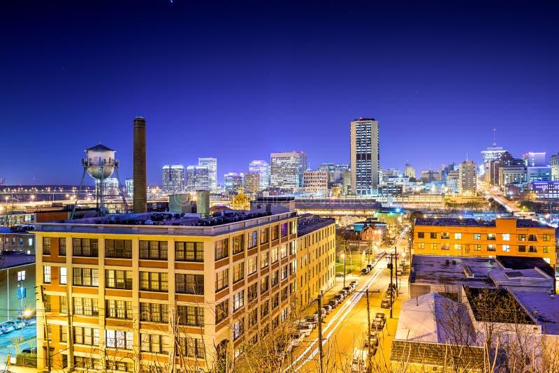 里士满,弗吉尼亚都市风景 免版税图库摄影