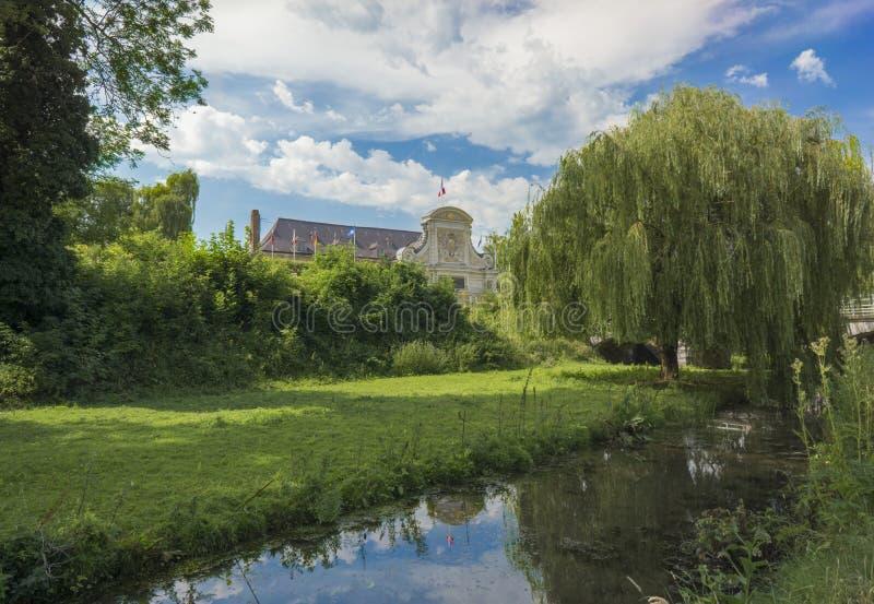 里尔,法国城堡  免版税库存图片