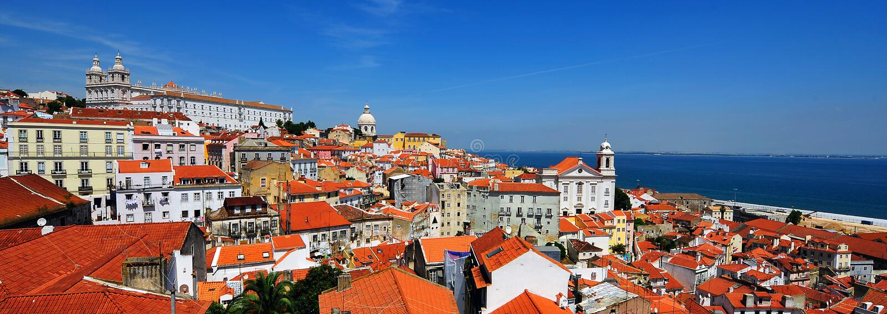 里斯本葡萄牙 库存图片