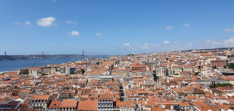 里斯本,葡萄牙老市 库存照片