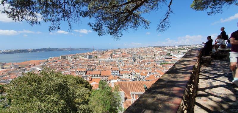 里斯本,葡萄牙老市 免版税库存照片
