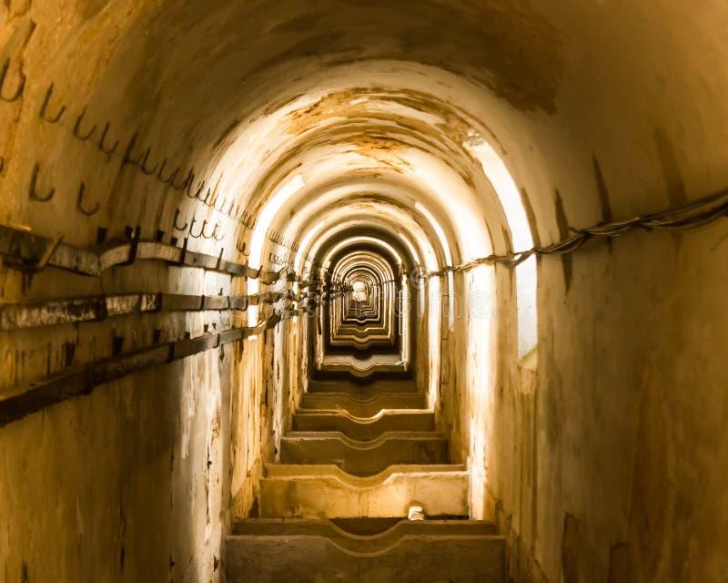 里斯本,葡萄牙:à  guas里弗(自由水)渡槽的子宫 库存照片