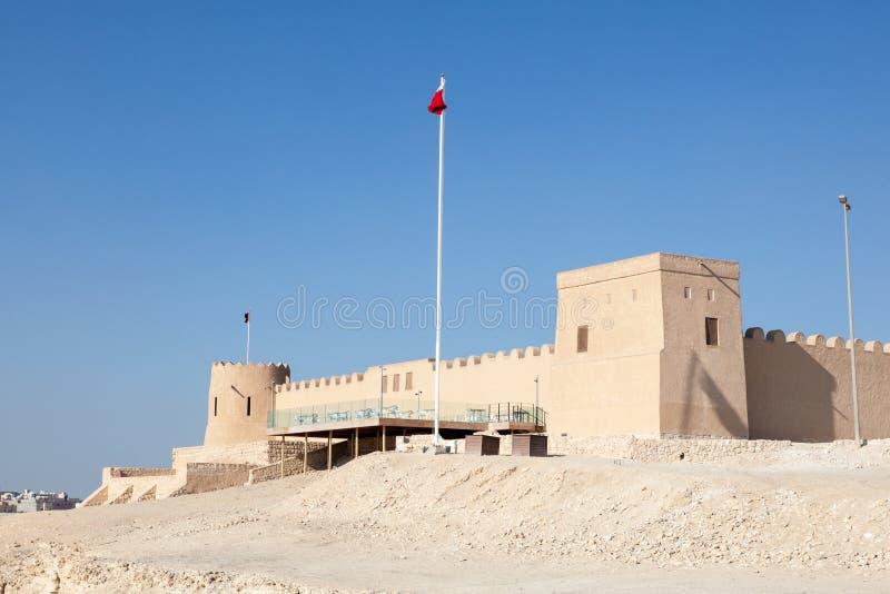 里法堡垒在巴林 免版税库存图片