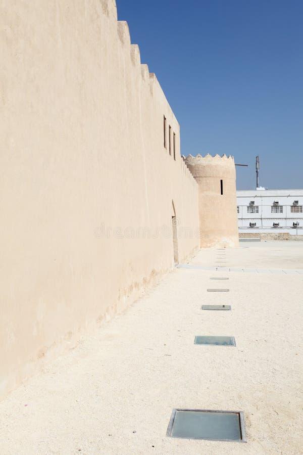 里法堡垒,巴林的王国 图库摄影