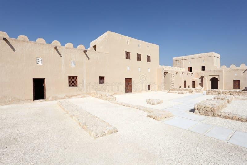 里法堡垒,巴林的王国 免版税库存图片