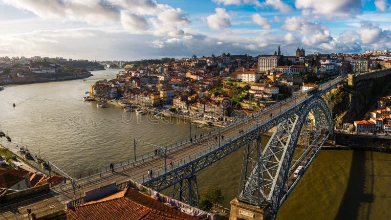 里约杜罗河 免版税库存图片