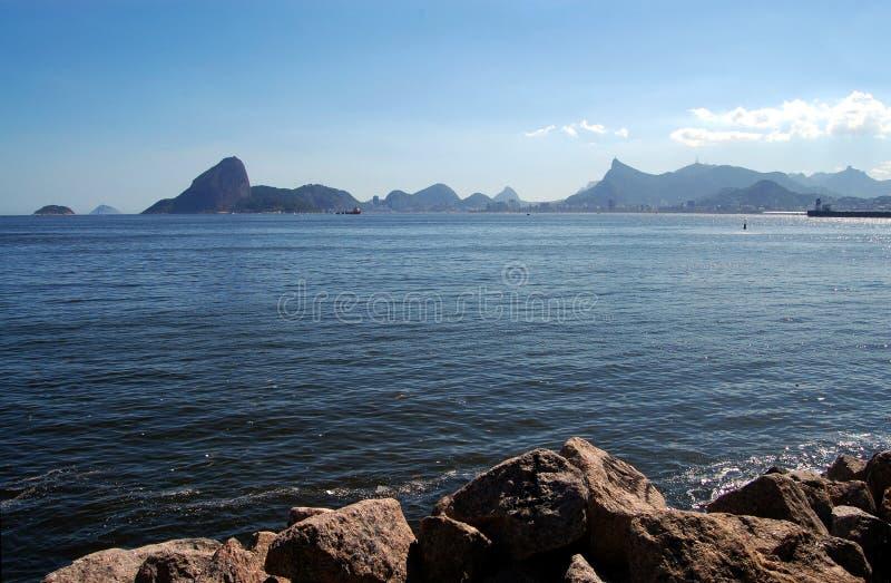 里约热内卢海湾 库存照片