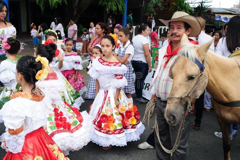 里维拉-哥伦比亚 图库摄影