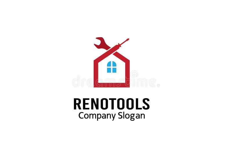 里诺工具商标标志设计例证 向量例证
