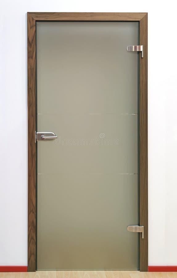 里面玻璃门 库存照片