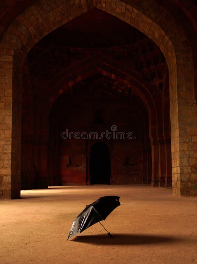 里面看法老堡垒在德里印度 免版税库存照片