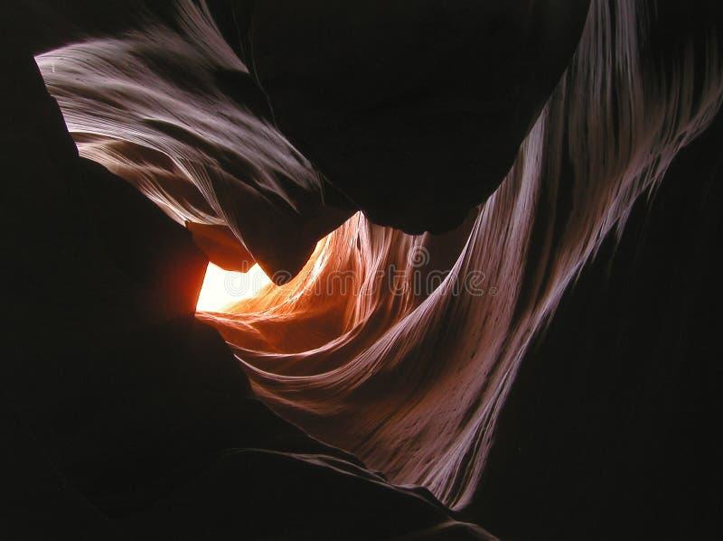 里面2只羚羊峡谷 库存照片