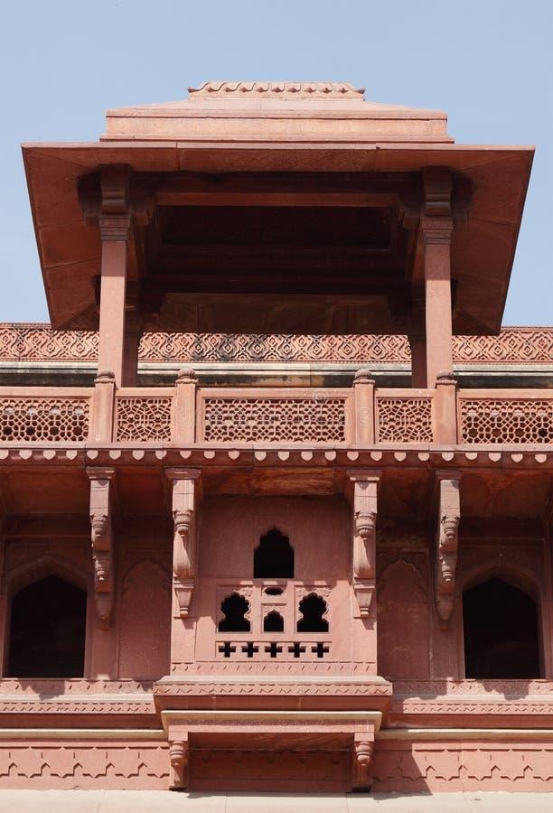 里面Jhangir宫殿,阿格拉堡 库存照片