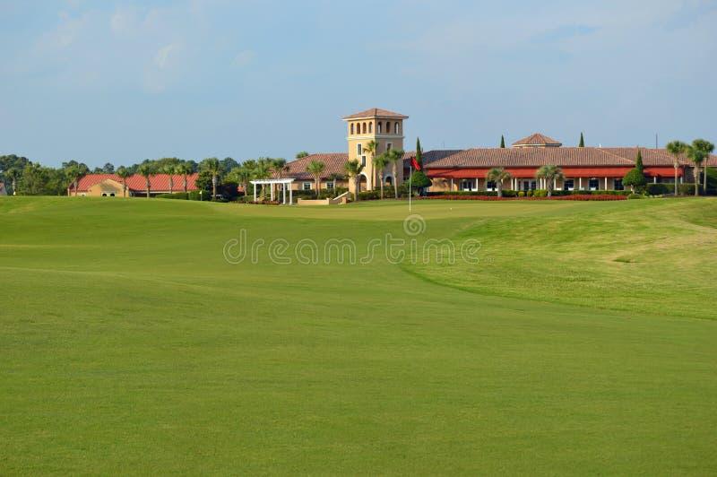 重创的沙丘高尔夫俱乐部,默特尔海滩SC 图库摄影