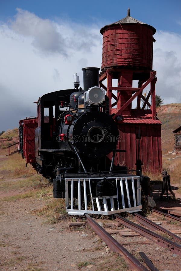 重创的铁路里约s 免版税库存图片