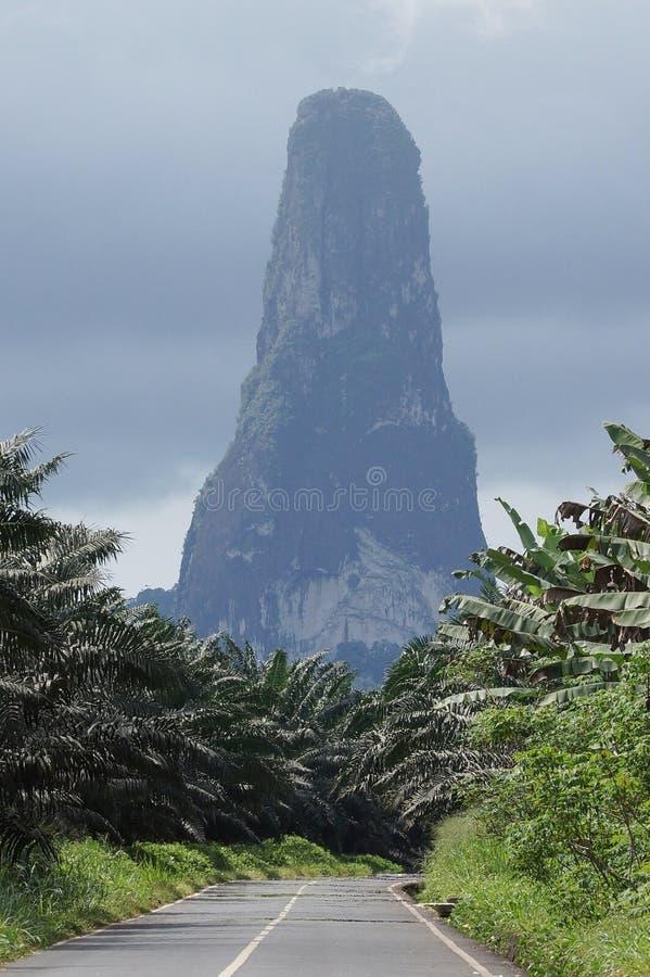 重创的Cao,圣多美,非洲 免版税库存图片