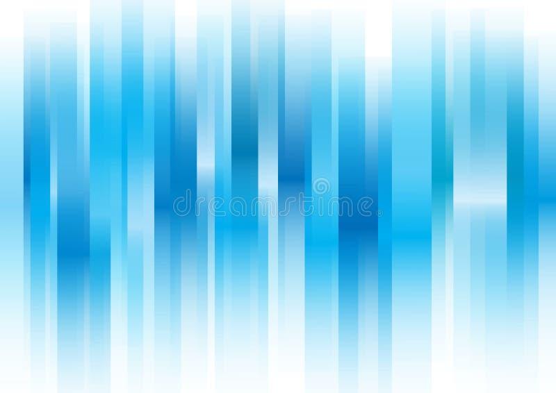 重叠的蓝色酒吧 库存照片