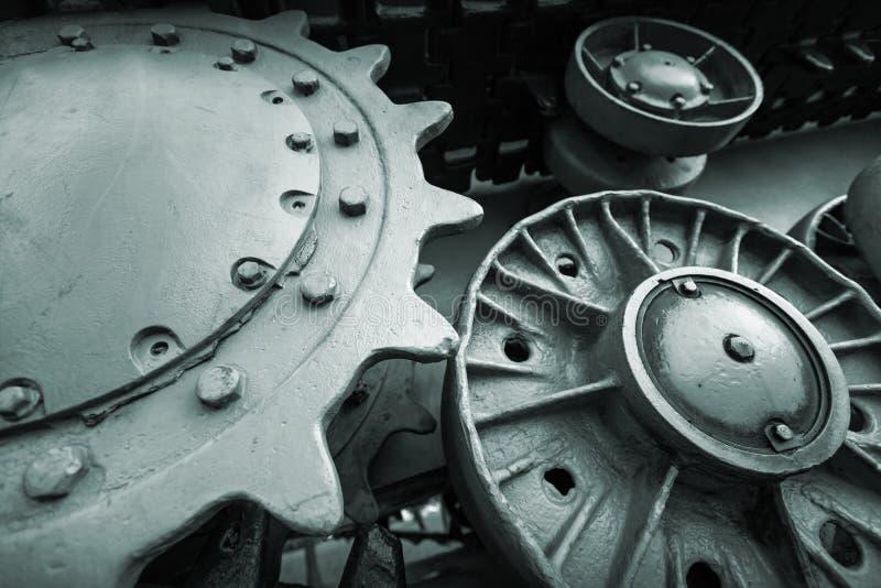 重工业工程学照片背景 免版税库存照片
