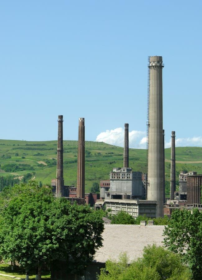 重工业罗马尼亚 库存照片