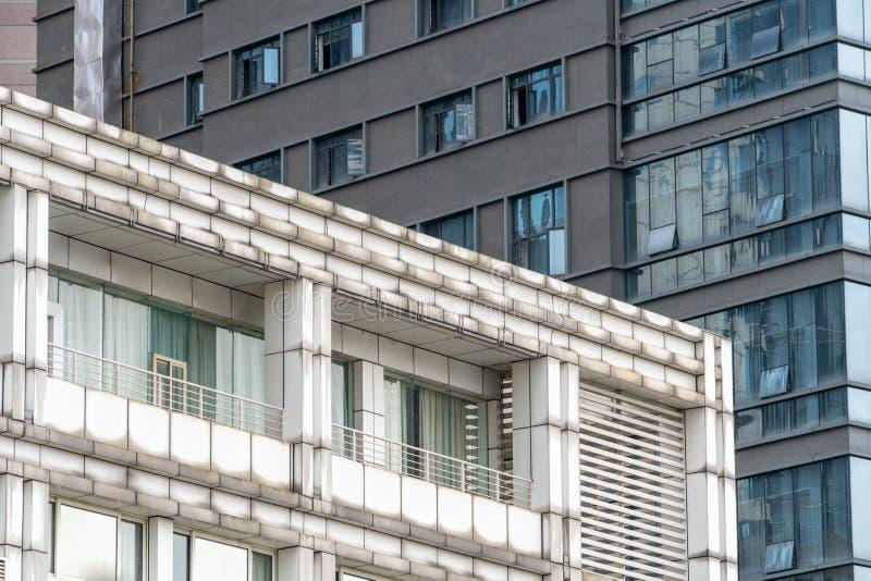 重庆办公楼的角落 图库摄影