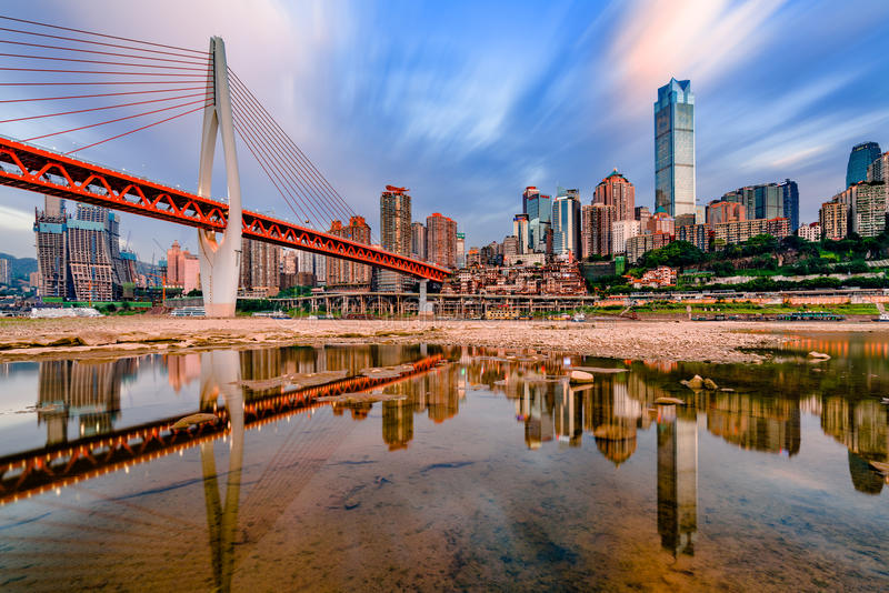重庆市 免版税库存照片