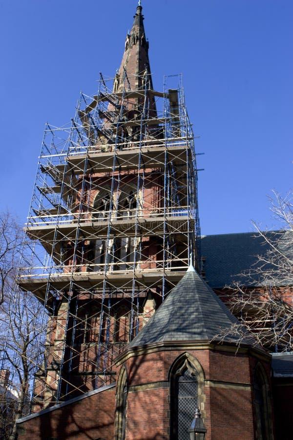 重建教会 图库摄影