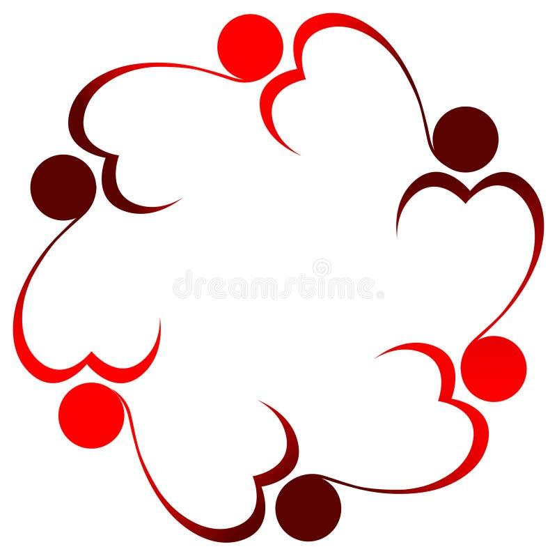 Download 重点徽标人 向量例证. 插画 包括有 人们, 附庸风雅, 转动, 团结, 艺术性, 设计, 例证, 华伦泰 - 22356340