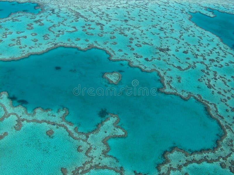 重点礁石 库存图片