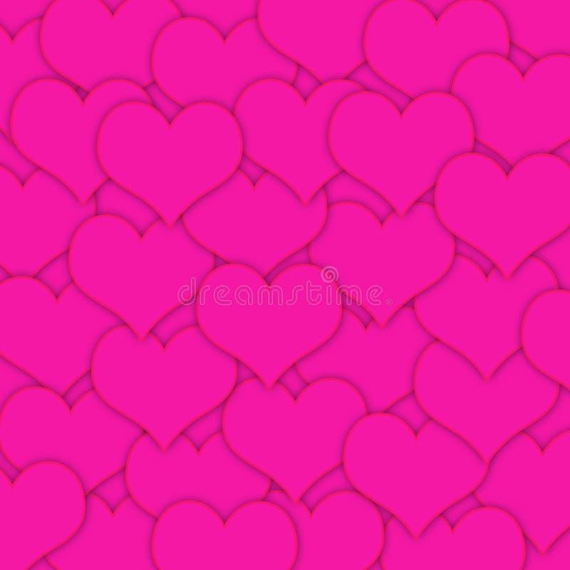重点粉红色 向量例证