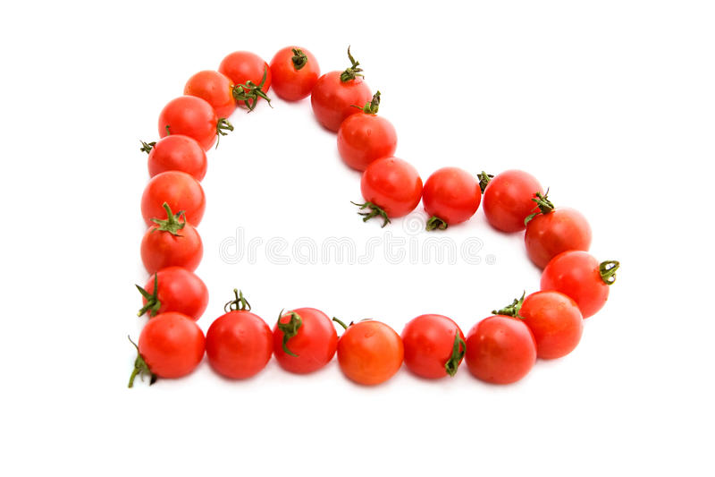 重点蕃茄 库存照片
