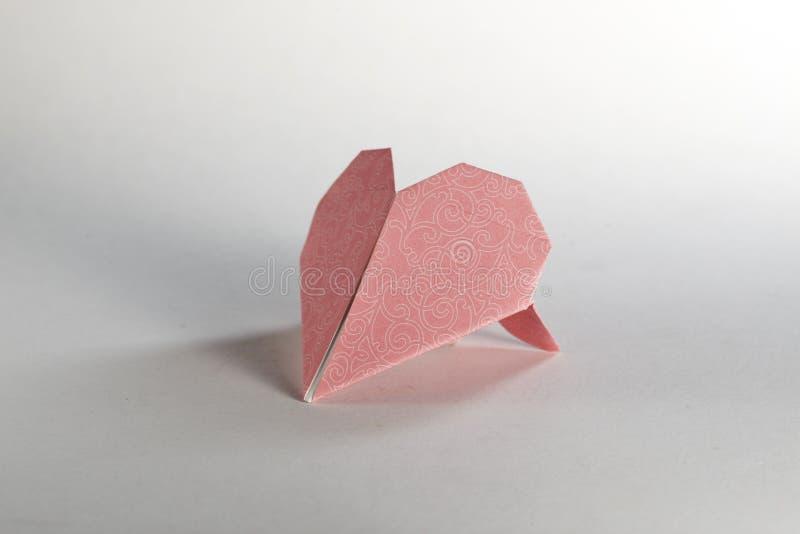 重点origami 免版税库存图片