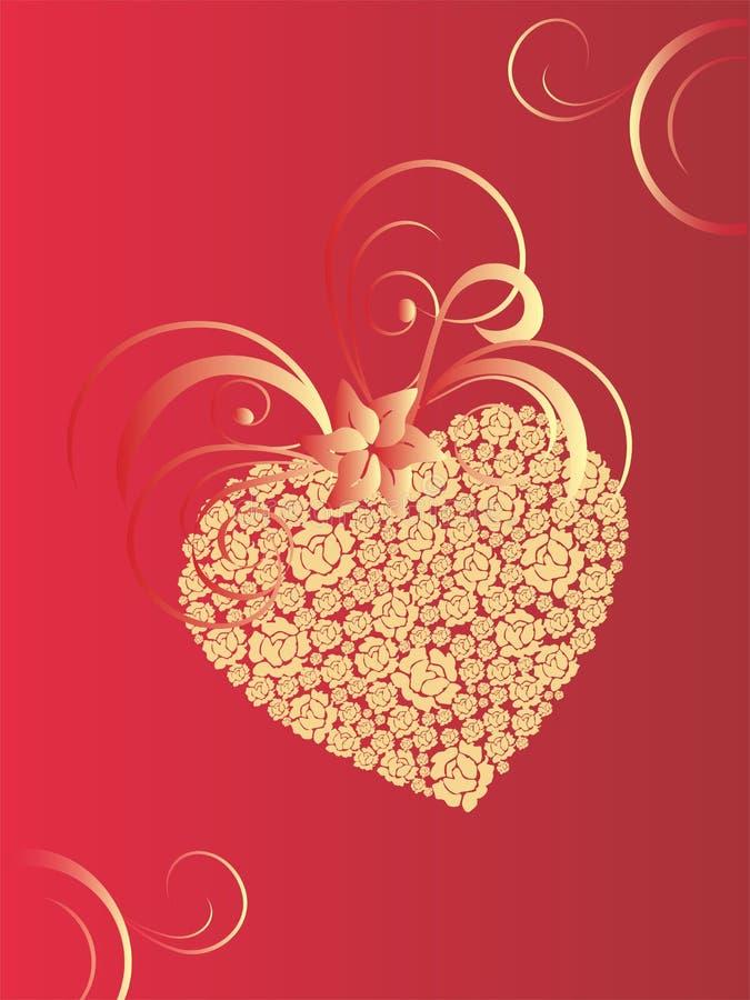 重点valentins 向量例证