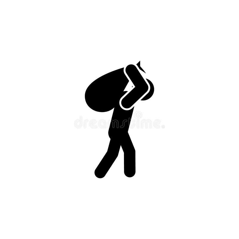 重的负担象 被克服的挑战例证的元素 优质质量图形设计象 标志和标志汇集我 皇族释放例证