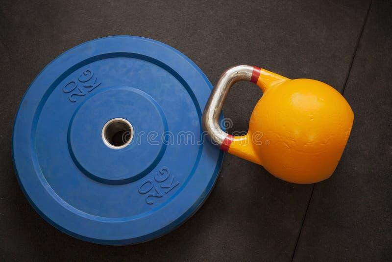 重量健身房 图库摄影