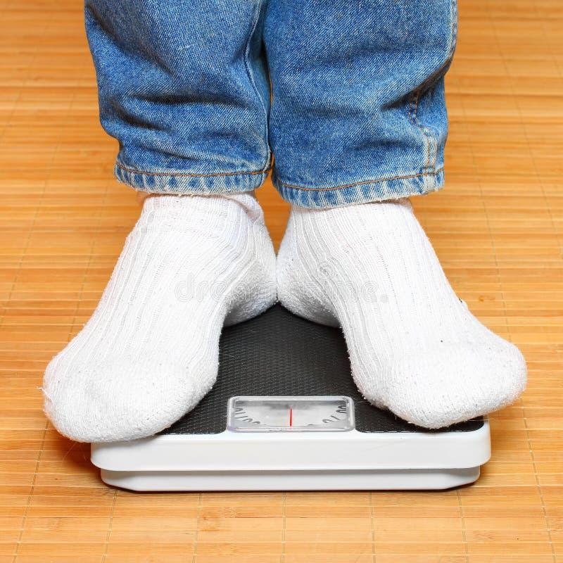 重量等级的妇女 免版税库存图片