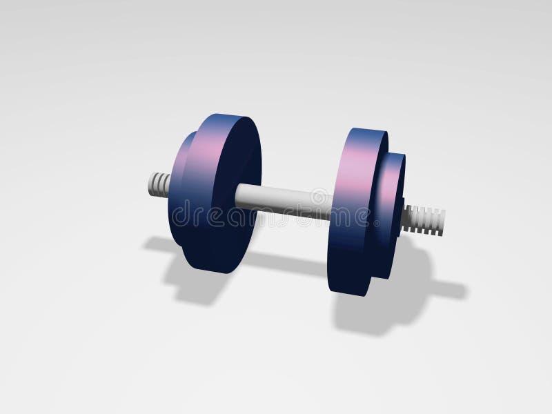 重量 向量例证