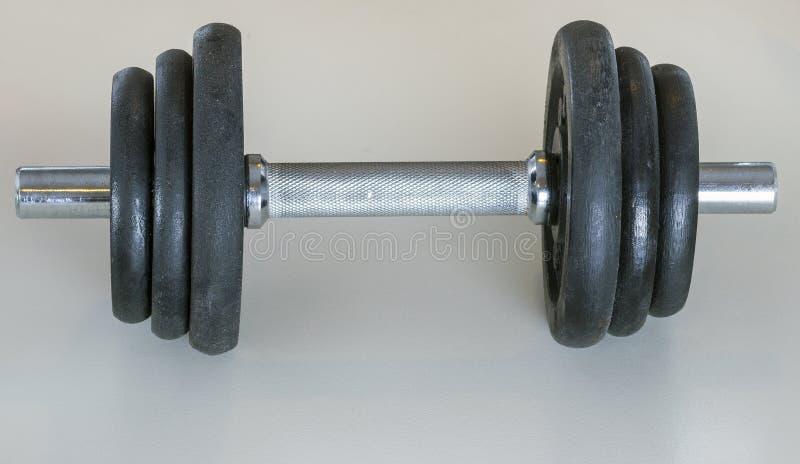重量dumbells 库存照片
