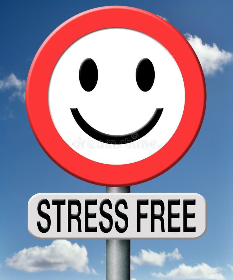 重音自由放松没有压力 向量例证
