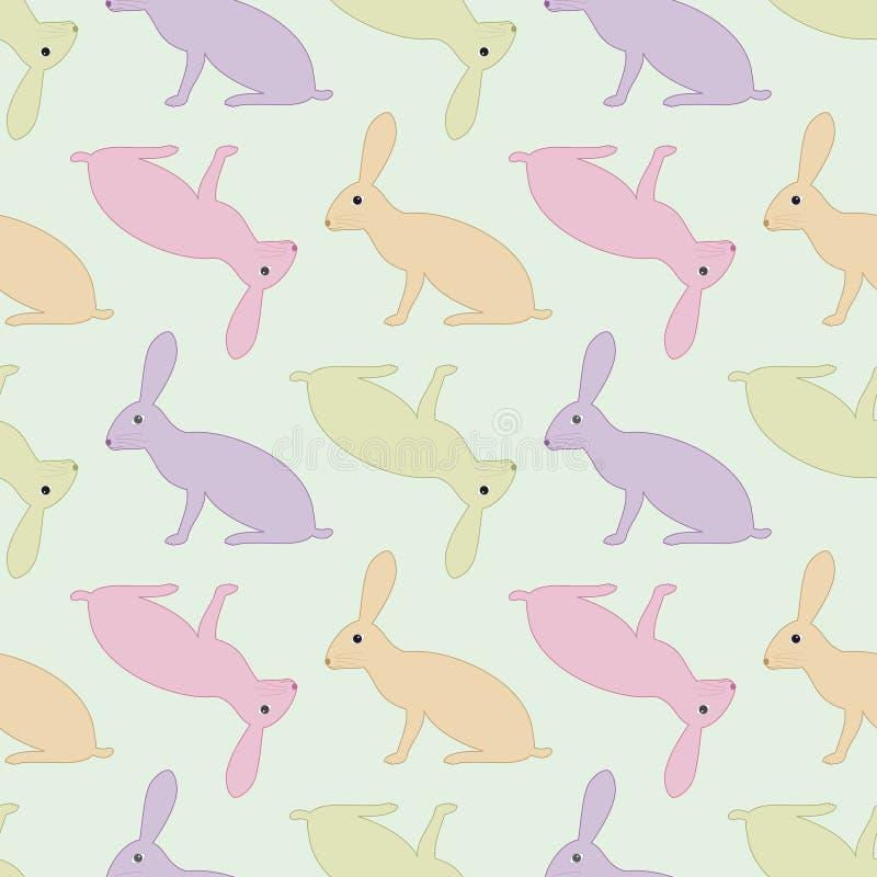 野兔仿造无缝 库存例证