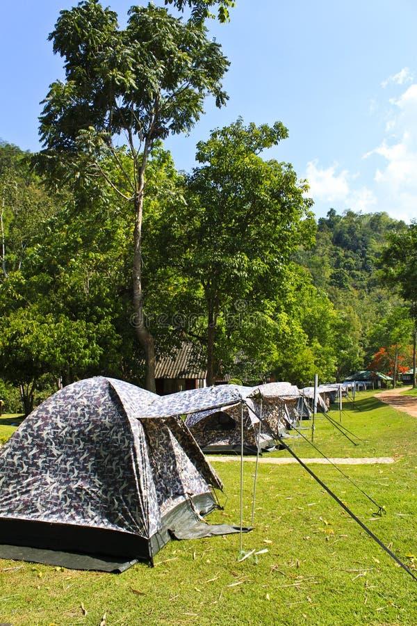 野营的泰国 免版税库存图片