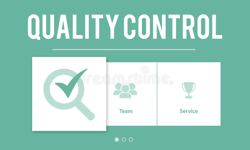 质量管理改善发展概念 库存例证