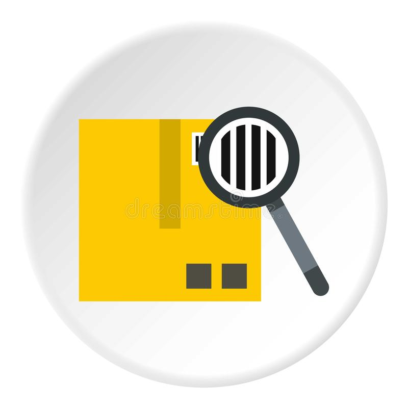 质量管理象,平的样式 库存例证