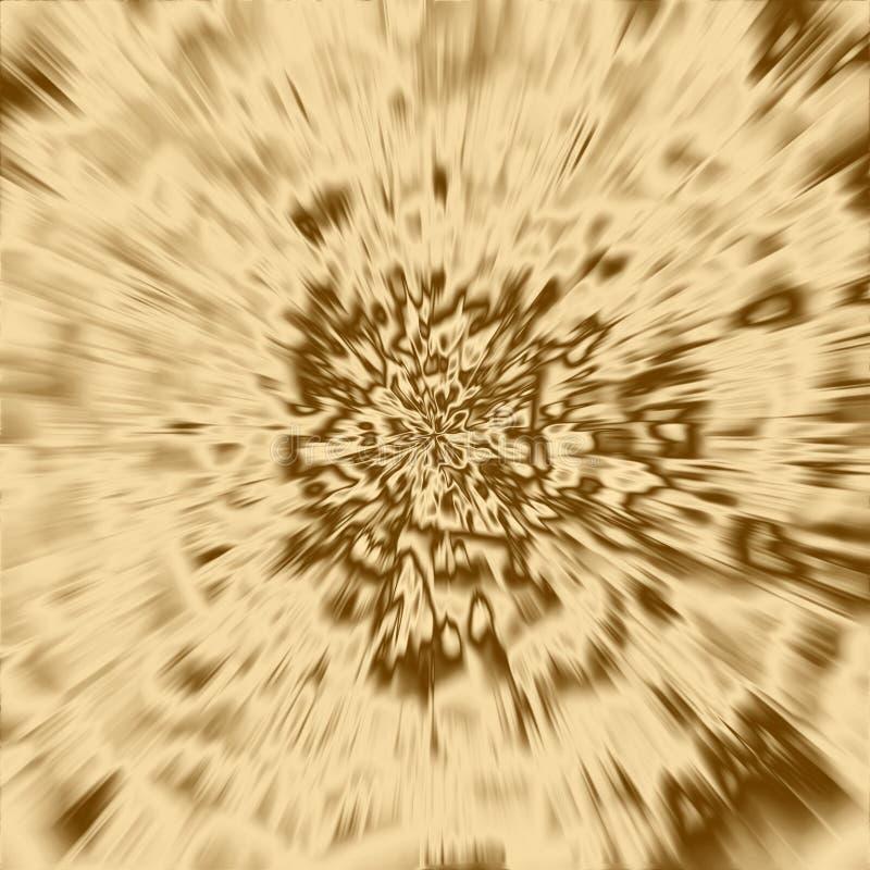 金光芒背景和发光的射线纹理,抽象 向量例证